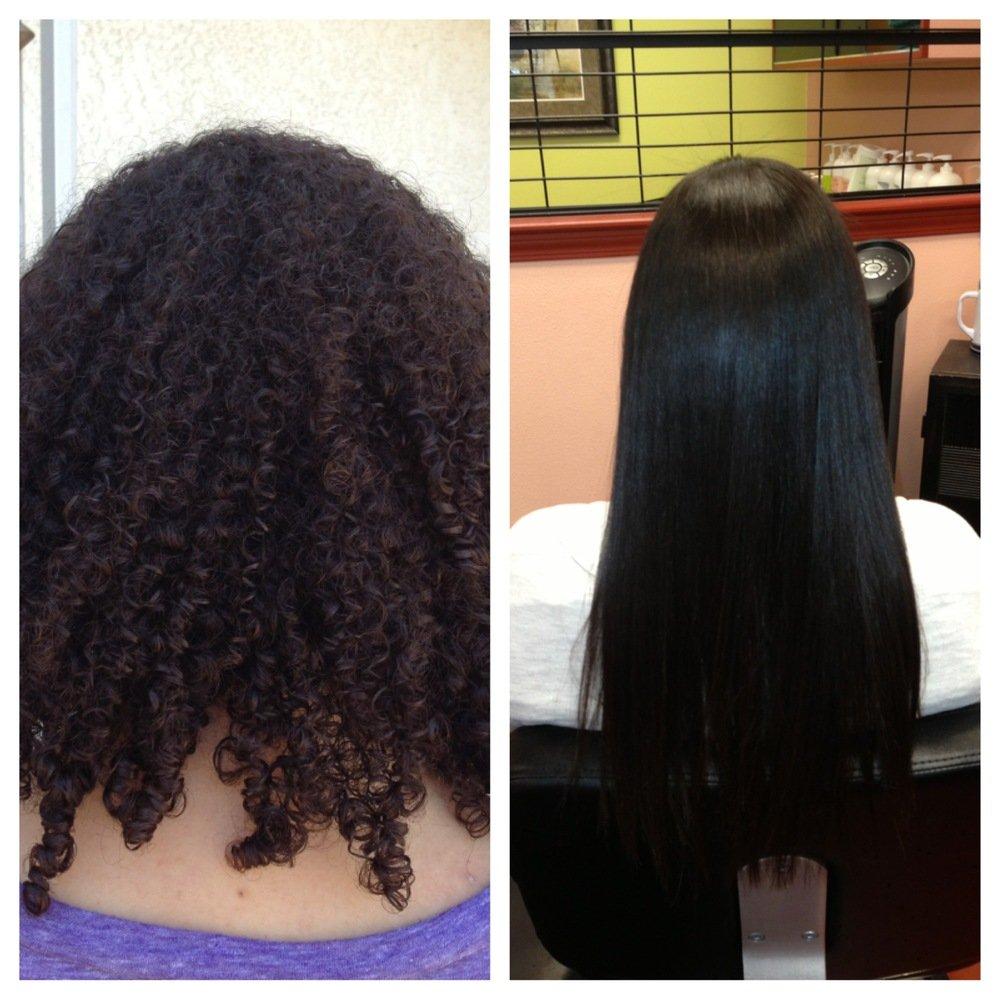 Eternity'Liss Acai Brazilian Keratin Hair Straightener Treatment - Smoothing Capillary (Shampoo and Keratin)