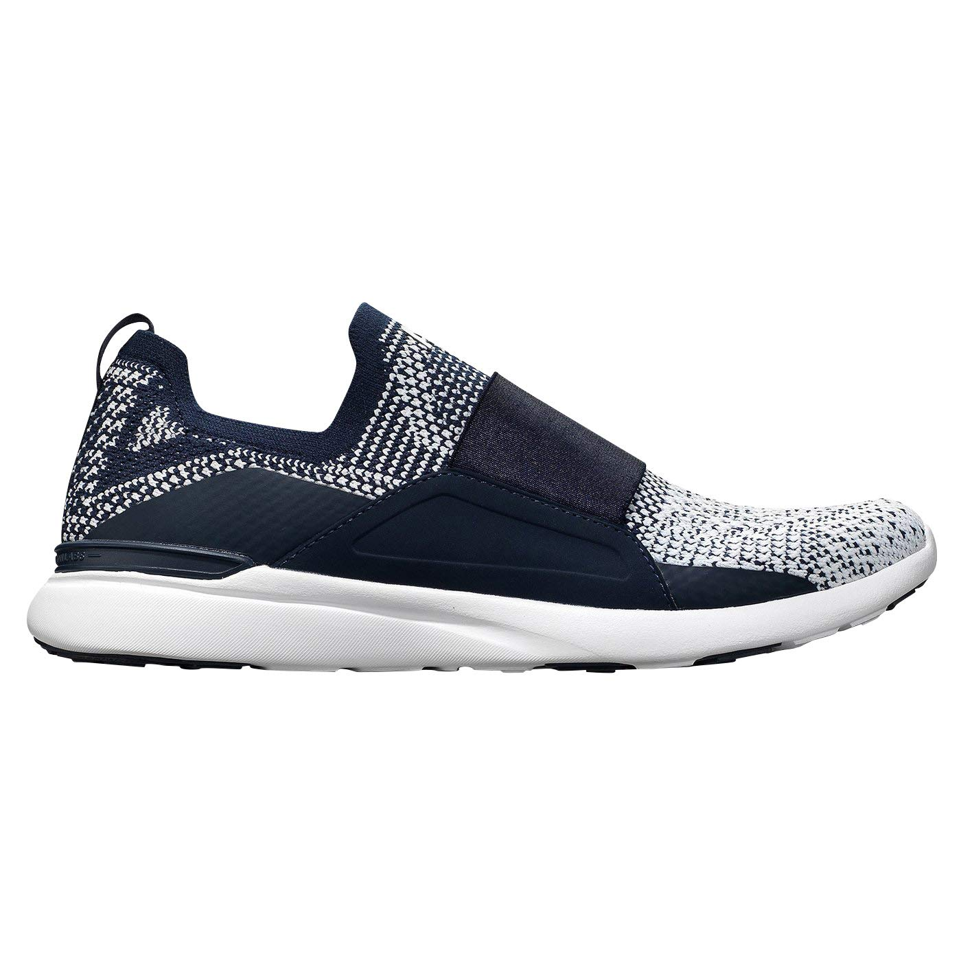 Image of APL: Athletic Propulsion Labs Women's Techloom Bliss Sneaker (10, Midnight/White/Ombre) Fitness & Cross-Training