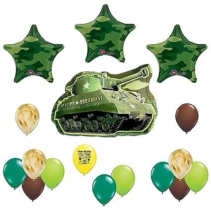 Amazon.com: Camuflaje del ejército Happy fiesta de ...