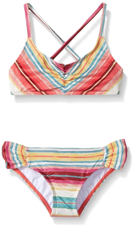 Billabong Girls' Surfin Billa Tali Two Piece Swimsuit Set Y211KSUR
