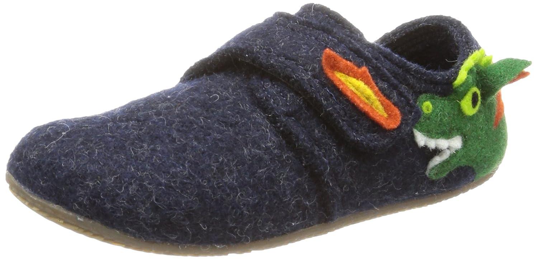 Living Kitzbühel Baby Velcro . Dragon Slippers Unisex -child