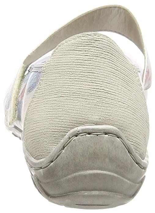 Rieker Women flat Slipper blue, (BLAU-MULTI) L2062-90  Amazon.ca  Shoes    Handbags 466d824e1d7a