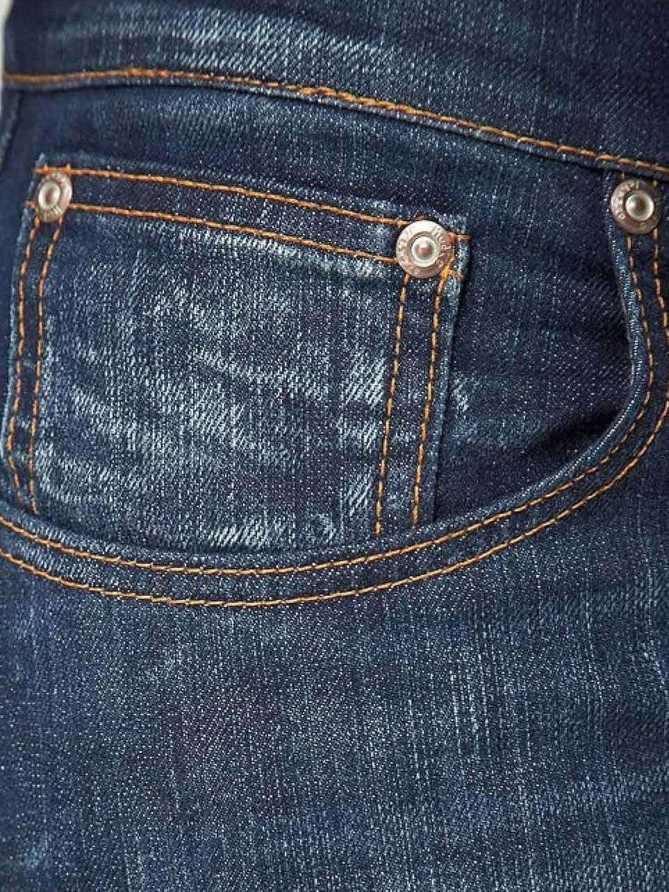 Color Blanco y Azul Pantalones Vaqueros para Hombre Nudie Grim Tim org