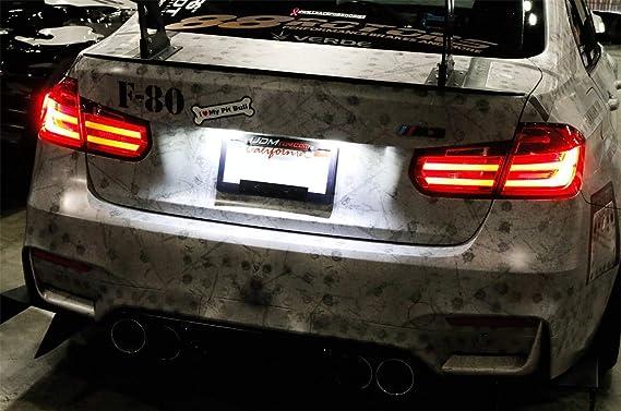BMW 3 Series E90 Fast Post Bright White Xenon LED Number Plate Light Units
