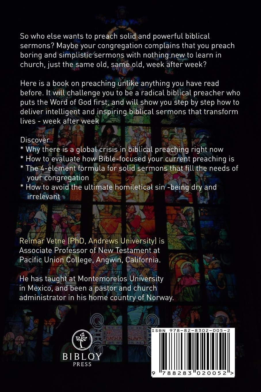 Buy Smart Sermon: How to Preach Intelligent Biblical Sermons That