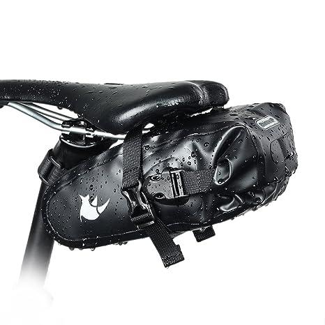 Selighting Impermeabile Borse Bicicletta Bosello MTB Borsa da Sella Bici  2.5L. 803d99dc6be
