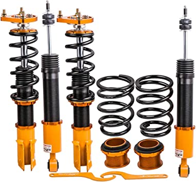 1994-2004 Suspension Spring Shock Struts Adjustable Damper maXpeedingrods Coilovers Kits for Ford Mustang 4th Gen