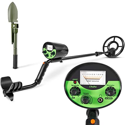 Ohuhu Metal Detector, High Accuracy Detector with Pinpoint Function, Outdoor Gold Digger with Waterproof