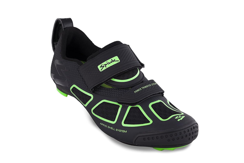 Spiuk Trivium Triathlon Zapatilla, Unisex Adulto, Verde/Negro, 39: Amazon.es: Deportes y aire libre