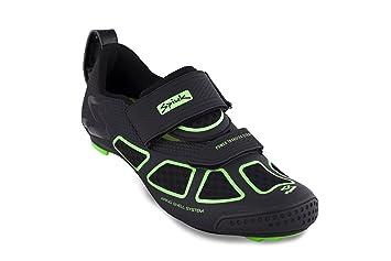 Spiuk Trivium Triathlon Zapatilla, Unisex Adulto, Verde/Negro, 44: Amazon.es: Deportes y aire libre