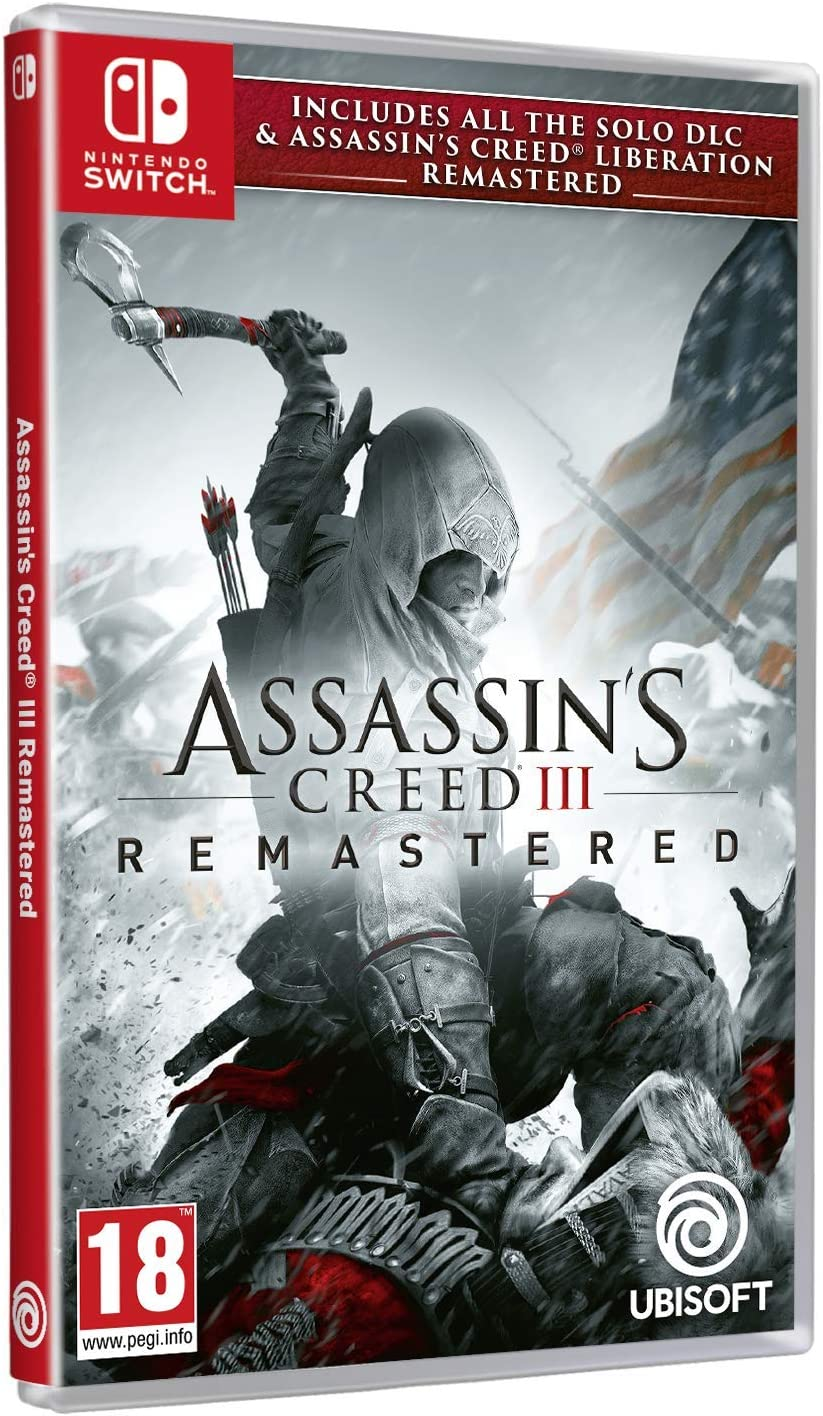 Assassins Creed III Liberation Remastered - Nintendo Switch ...