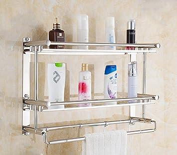 Badezimmer Regal Badezimmer Aufbewahrungsregale Handtuchhalter