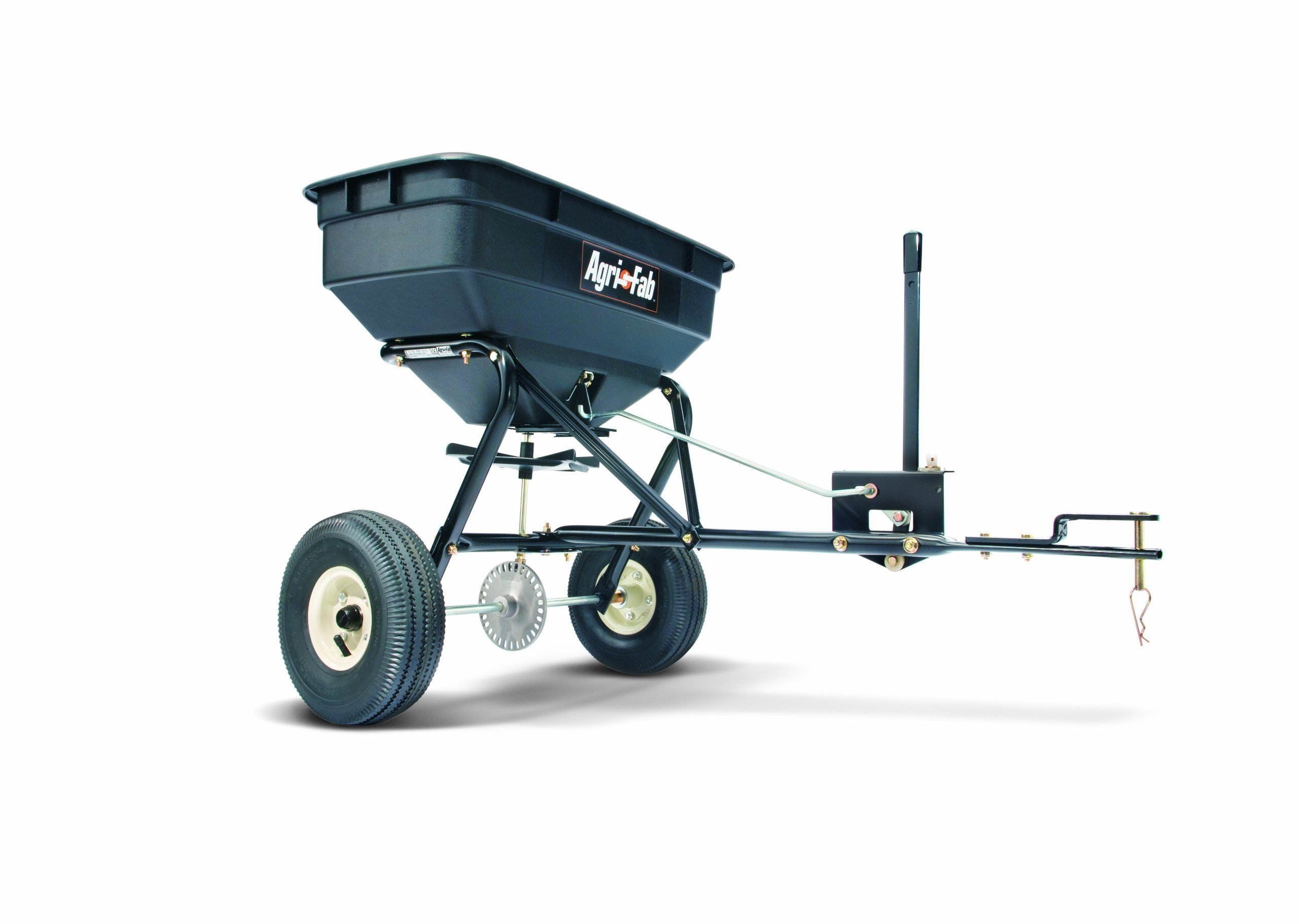 Agri-Fab 45-0215 100-Pound Max Tow Behind Broadcast Spreader, Black by Agri-Fab