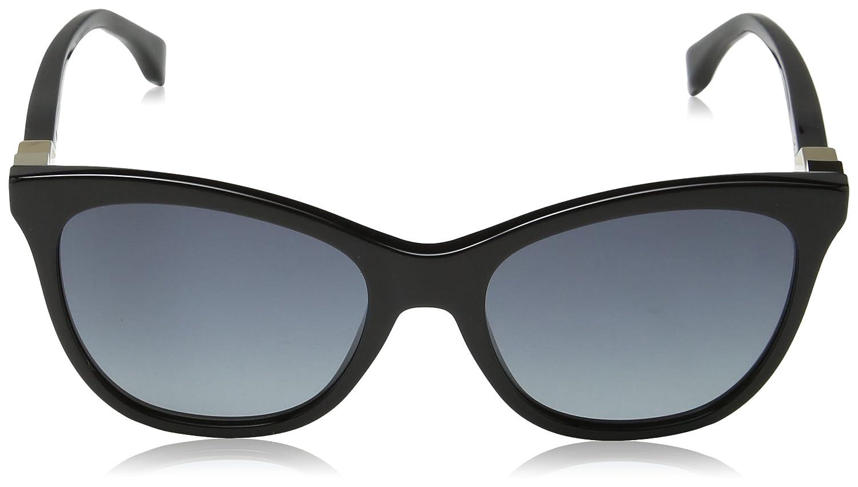 Sunglasses Fendi Ff 200/S 0807 Black/HD gray gradient lens ...