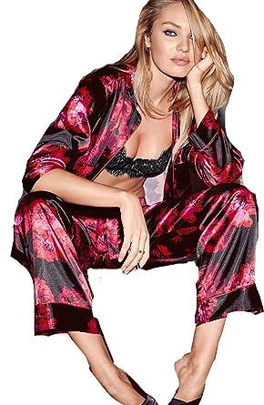 selezione più recente buona consistenza vendita di liquidazione Victoria's Secret Women's Pyjama Satin PJ 2-Piece Afterhours ...