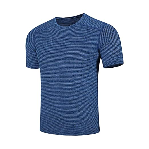 0f7ae37c8e8d Men Short Sleeve Summer T Shirts Casual Fashion Loose O-Neck Fitness Sport  Fast-