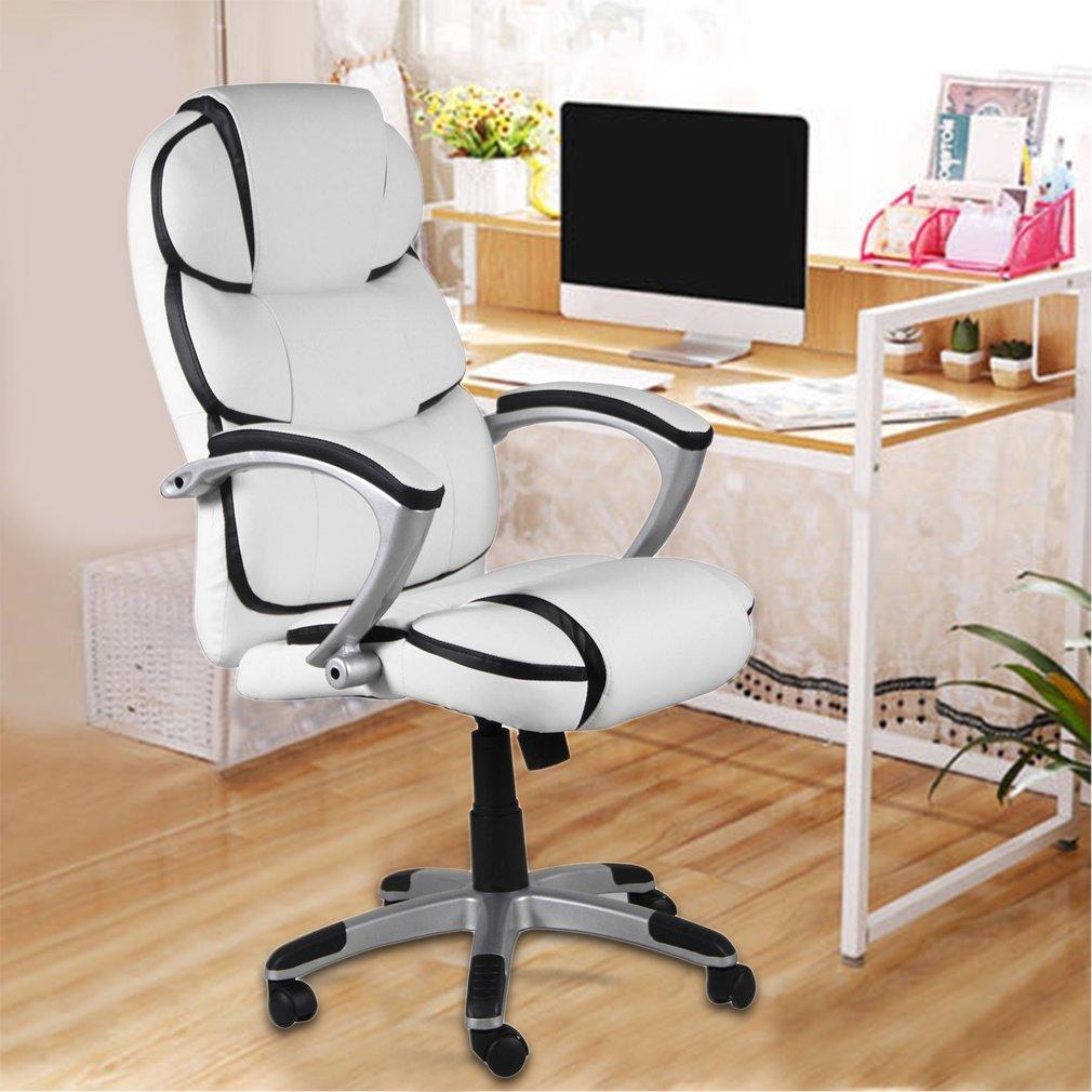 Amazon.com: Ergonómico silla de oficina ejecutiva, rotación ...