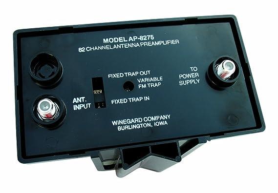 Winegard AP8275 88-108MHz amplificador señal de TV: Amazon.es: Electrónica