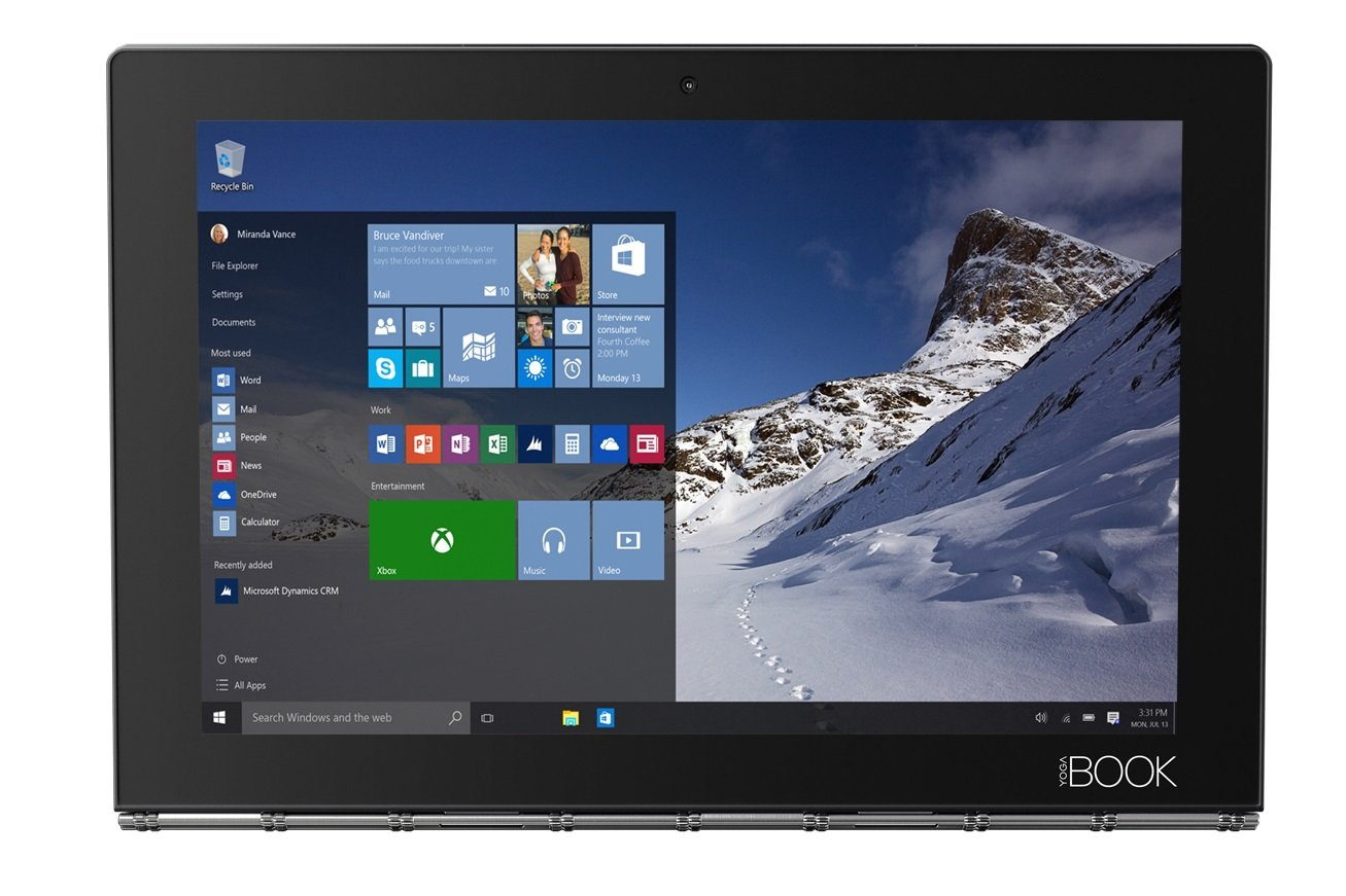 Lenovo Yoga Book Windows Tablet
