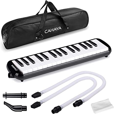 Carrying Bag Professional Keyboard Harmonica With Long Tube  Short Mouthpiece