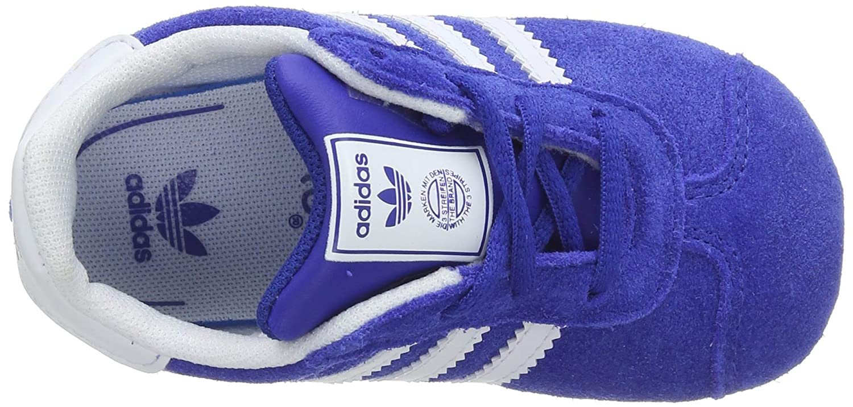 adidas Gazelle Crib, Sneakers Unisex bebé, Azul (Collegiate Navy/FTWR White/Gold Met.), 19 EU: Amazon.es: Zapatos y complementos