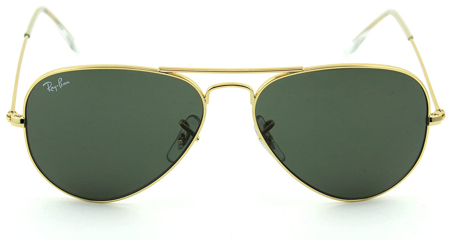 Amazon.com: Ray-Ban 0rb3025 Aviator lentes de sol ...