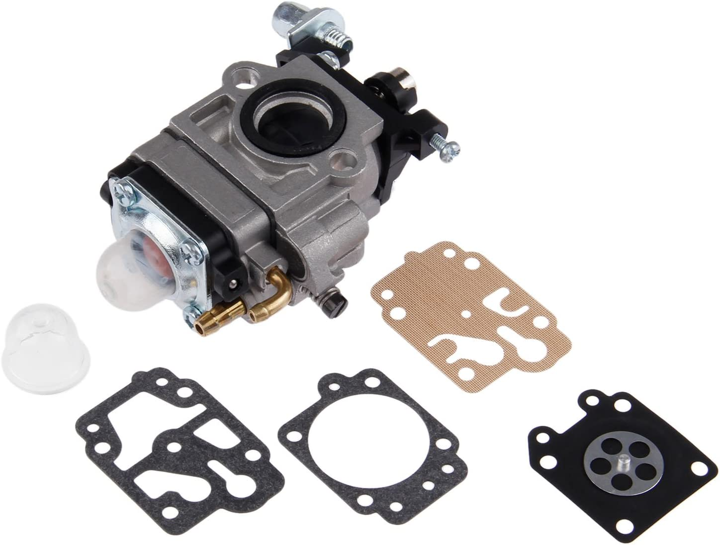 New Carburetor Carb For 43cc Lawn Brush Weed Cutter Engine Motor 1E40F-5 1E40F5