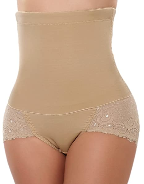 e7e1776e71 Lynmiss Body Shaper Butt Lifter Shapewear High Waist Tummy Control Panty  Slim Waist Trainer
