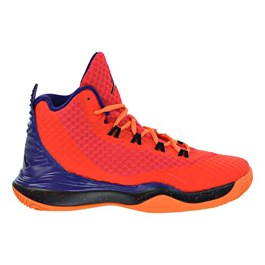 buy online bf487 ebba2 ... cheap jordan super.fly 3 po bg big kids shoes bright crimson black  court d6593