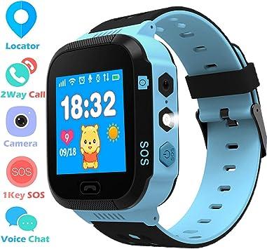 Smartwatch Phone para Niños Niñas, Reloj inteligente Teléfono con ...