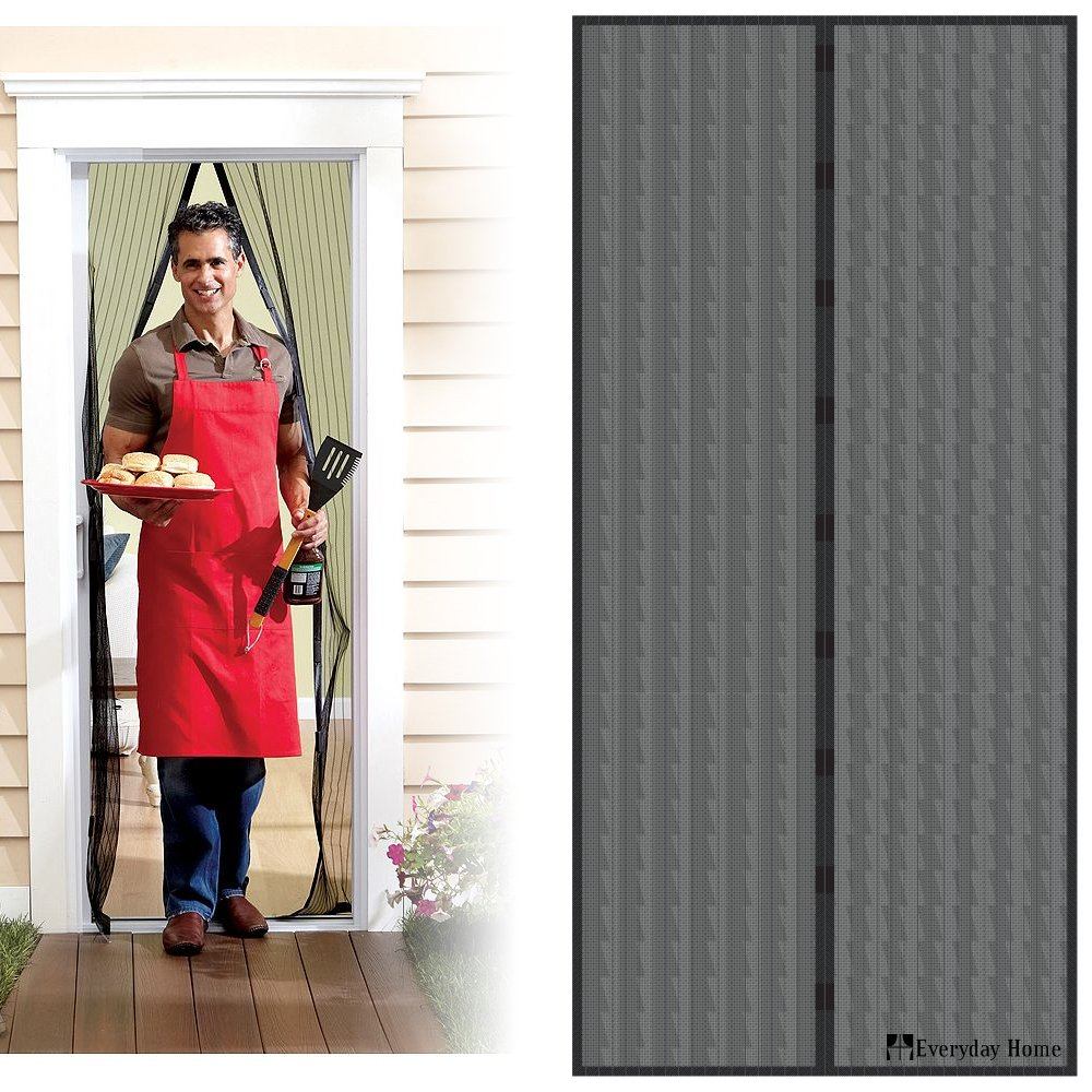 Attirant Magnetic Screen Door With Heavy Duty Magnets And Mesh Curtain By Everyday  Home     Amazon.com