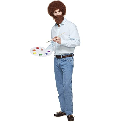 Spirit Halloween Adult Bob Ross Costume - Firefly