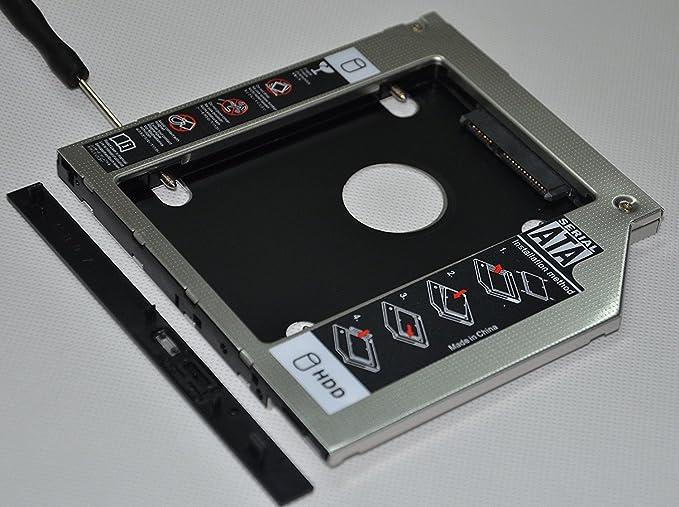 2nd SATA Hard Drive SSD HDD Caddy for Acer Aspire E15 ES1-512 E14 E5-411G P7YG