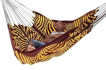 arambol hammocks flying carpet original zebra print yellow  maroon buy arambol hammocks flying carpet original zebra print yellow      rh   amazon in