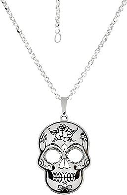 pendentif collier tête de mort 4
