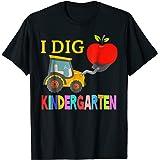 I dig Kindergarten grade Shirt Boys and Toodler