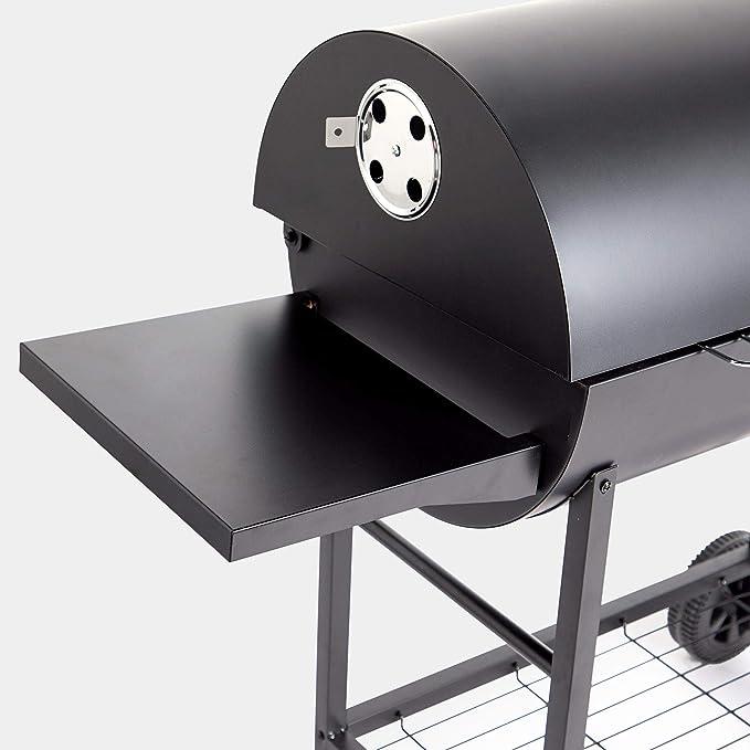 Asador de barril VonHaus para barbacoa de carbón, para asar ...