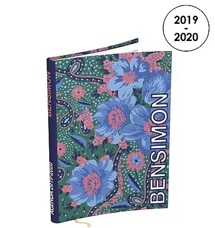 Bensimon - Agenda diaria 2019-2020 de agosto a julio, 1 día por ...