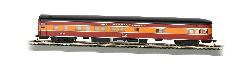 Bachmann Industries Southern Pacific Daylight smooth-side osservazione auto con interno illuminato (ho scale), 85 '