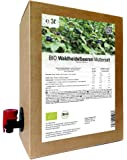 BIO Waldheidelbeeren Muttersaft - 100% Direktsaft 3 Liter