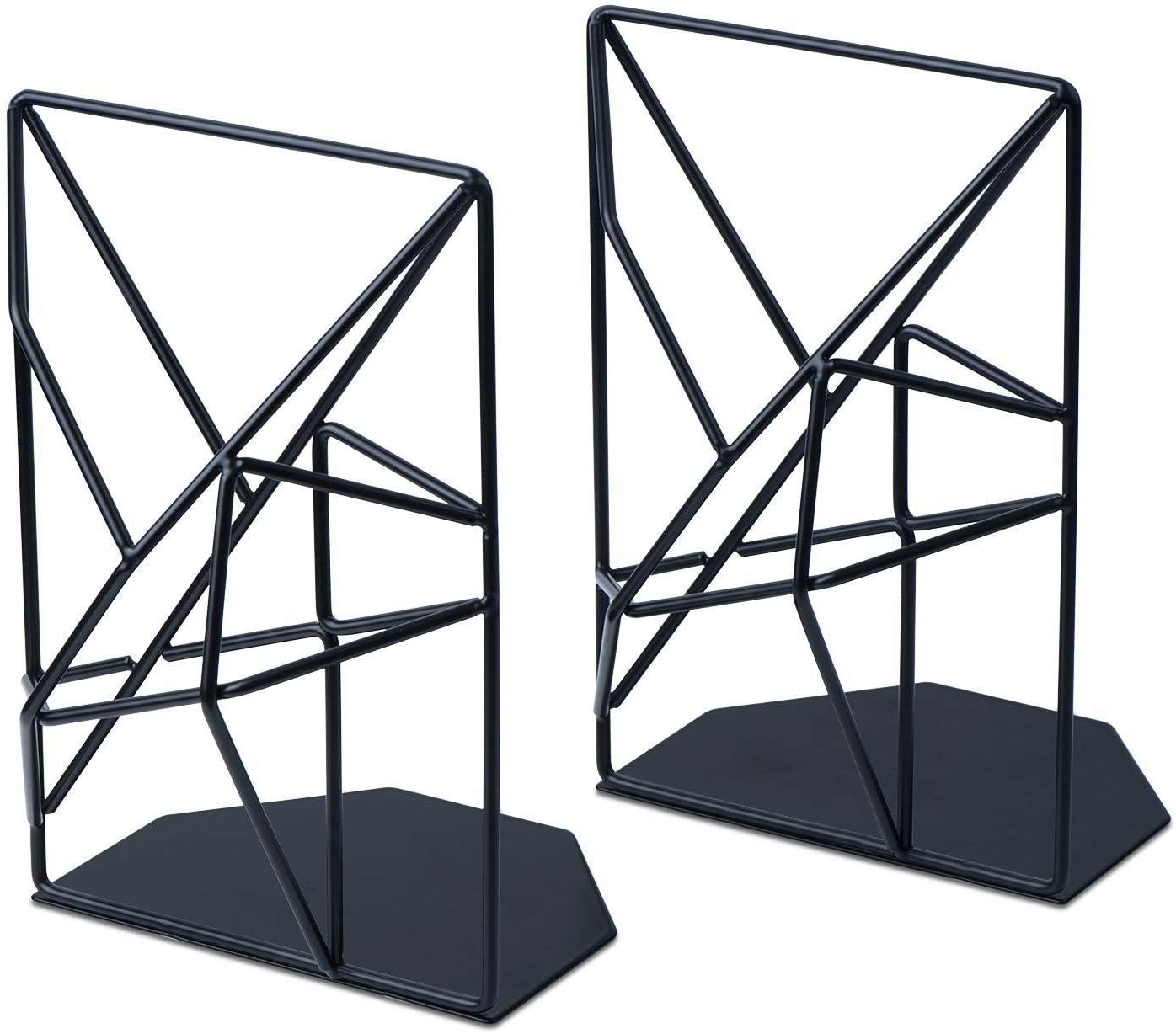 Lucy Day 2 Pair Book Stand BookshelfBook Holder Book by Book Stand Book End Book Thickened Two Pieces
