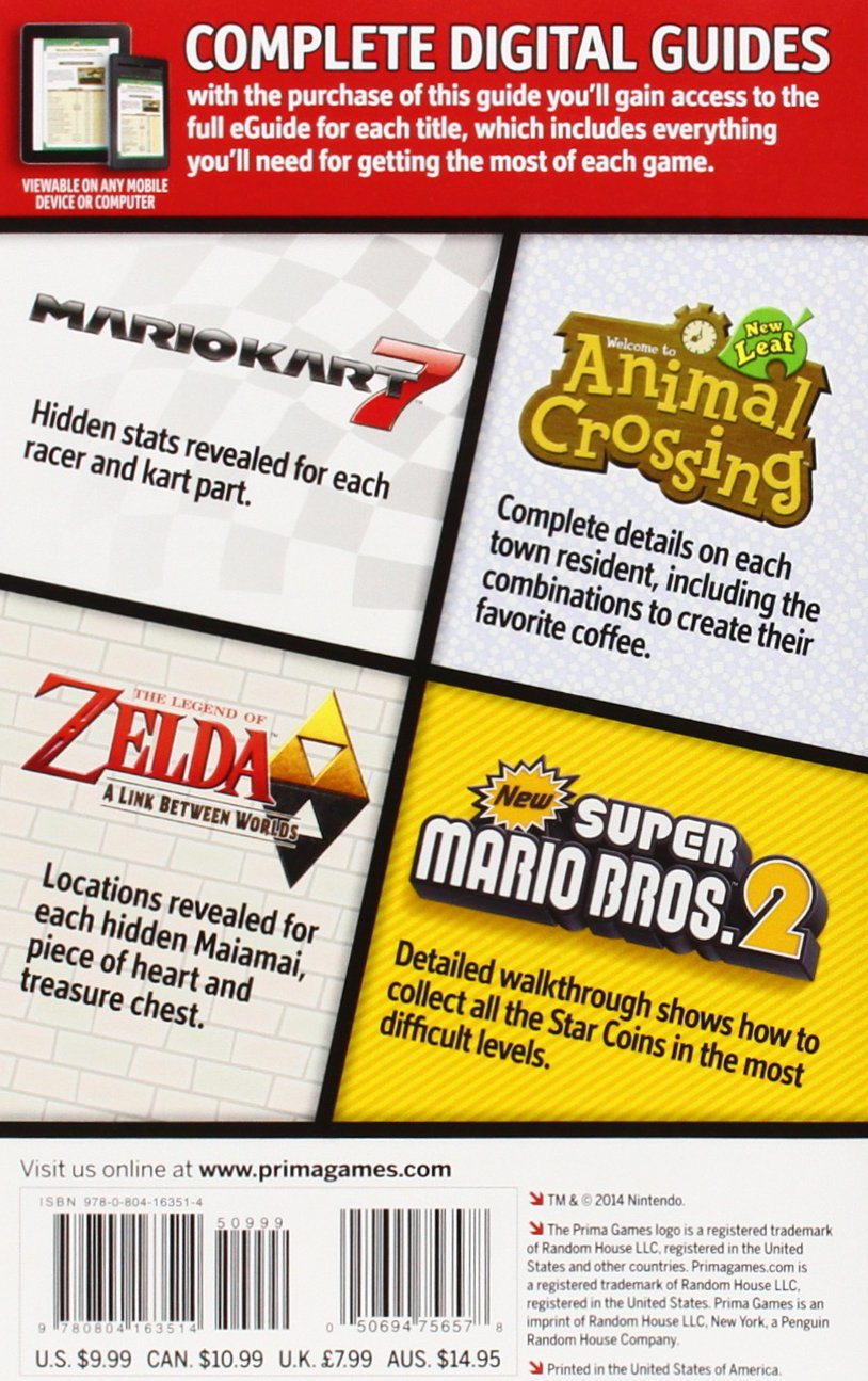 Buy Nintendo 3DS Player's Guide Pack: Prima Official Game Guide