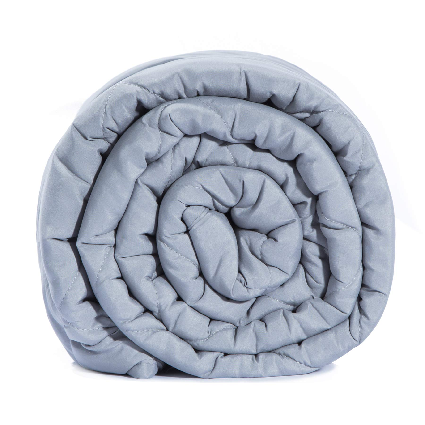 BlanQuil Basic Weighted Blanket (Grey, 12)