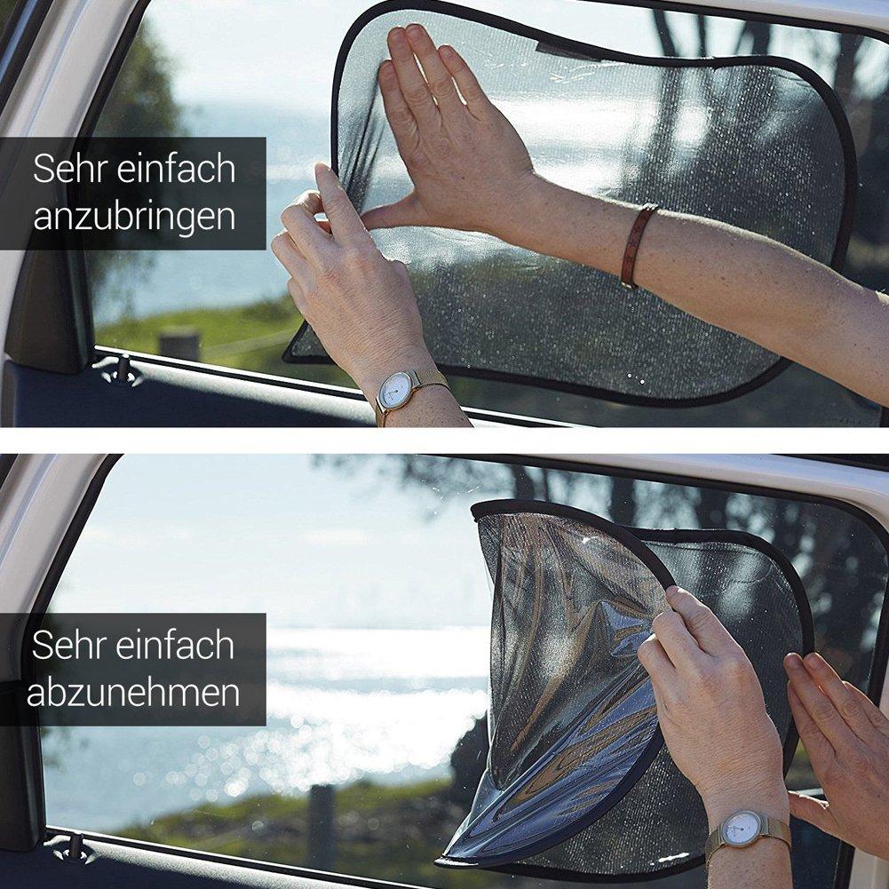 Parasole Auto per Finestrini Laterali,Tendine Parasole per Auto 2pc 50 x 30 cm,2pcs