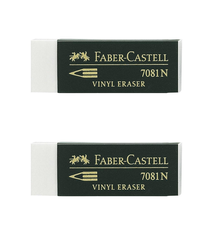 Faber Castell Blister gomas de borrar Goldfaber blanco