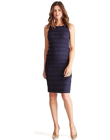 0395f1638b00c Ingrid & Isabel Women's Maternity Sleeveless Lace Dress