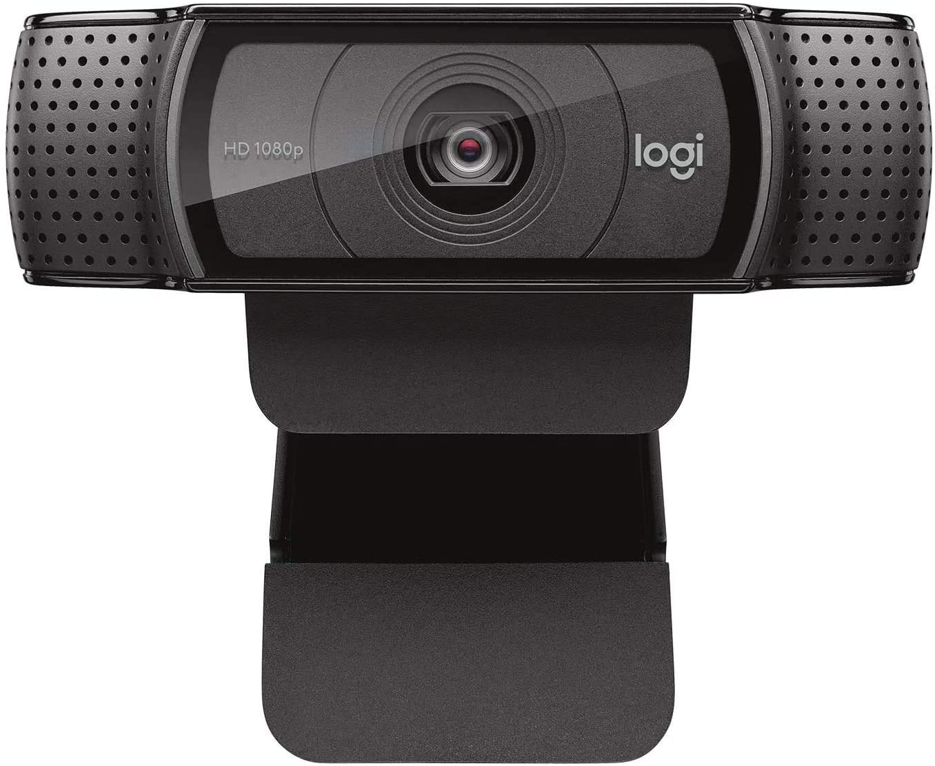 Logitech C920e / C920 HD Webcam, Full HD 1080p Video Calling and Recording, Dual Stereo Audio, Stream Gaming - Black