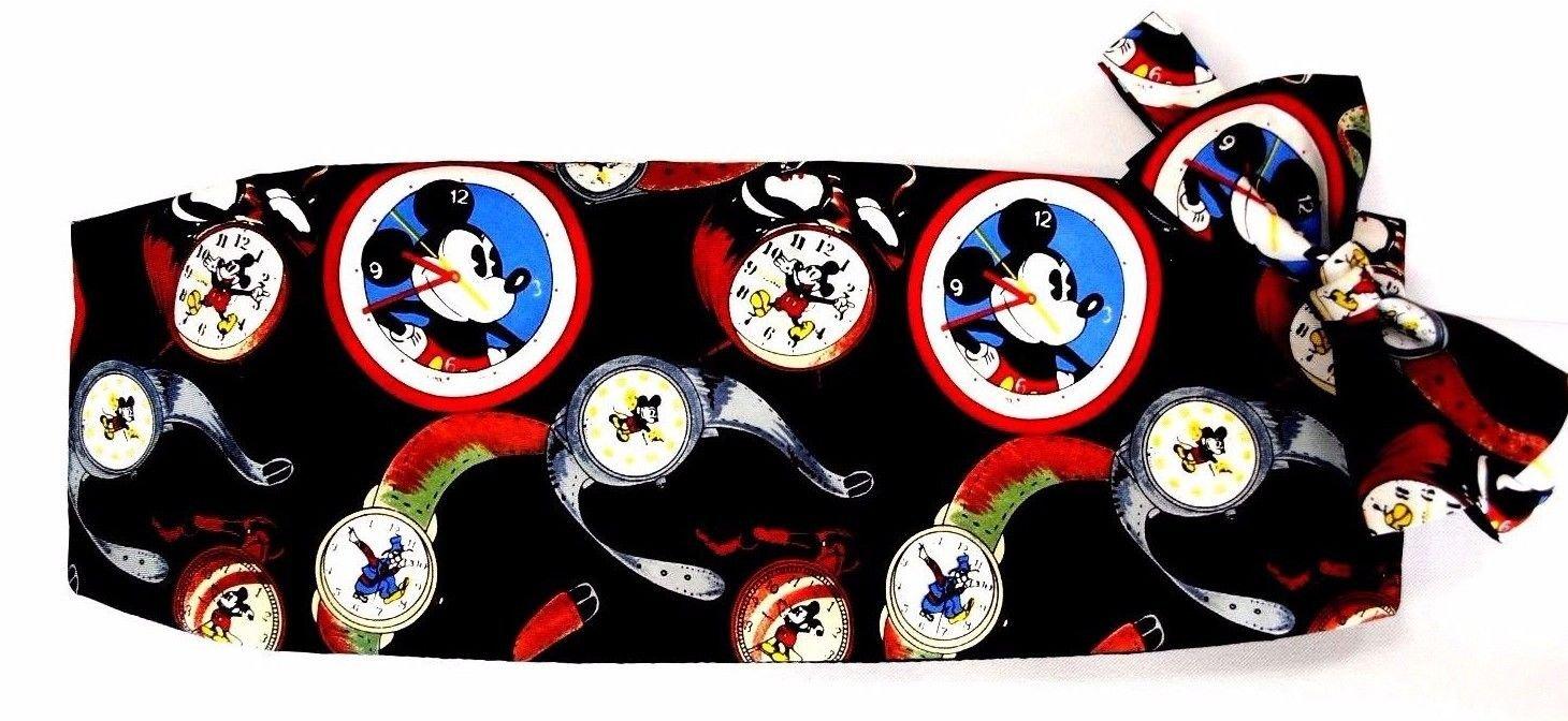 Iconic Mickey Mouse Tuxedo Cummerbund and Bow Tie