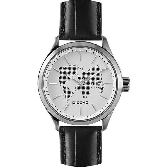 PICONO WD-126-01 - Reloj color negro