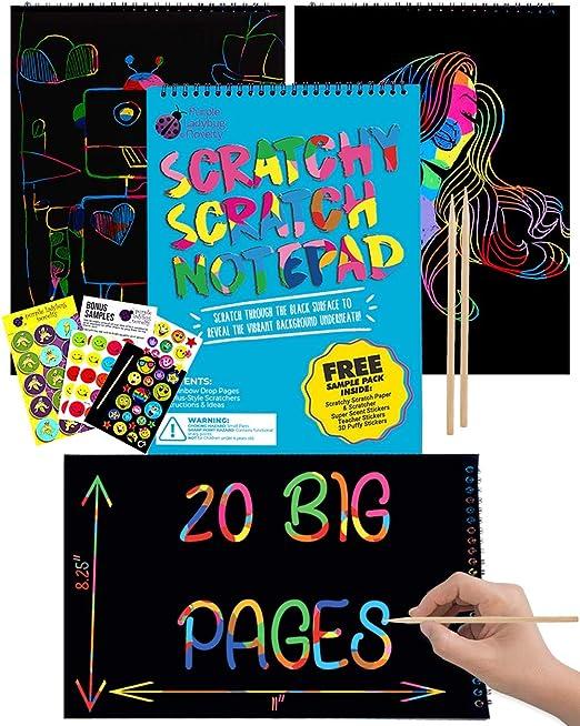 COMVIP Laser Craft Tissue Paper Coloured Card 50 Sheets 10x10cm 5 Glitter Colors Art Origami Folding Paper for Kids DIY Crafts Decorative